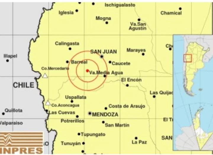 Sismos en San Juan se sintieron en Córdoba