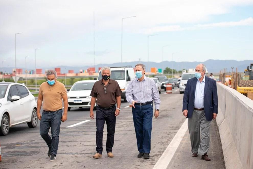 Circunvalación: Schiaretti habilitó un nuevo puente y otro tramo con tercer carril en la zona norte
