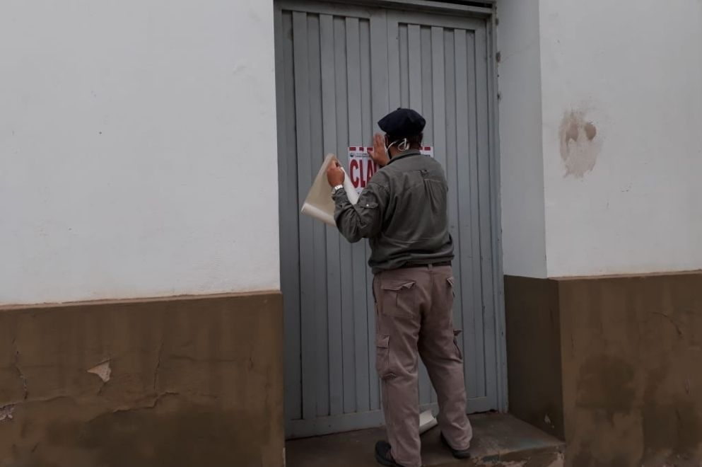 Luque: clausuran depósito ilegal de agroquímicos