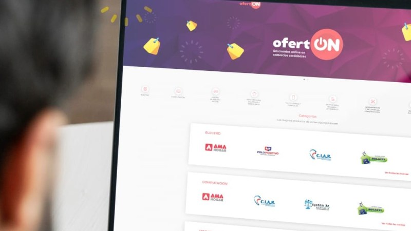 Ofertón se extiende por 72 horas y se instala como el evento comercial online de Córdoba