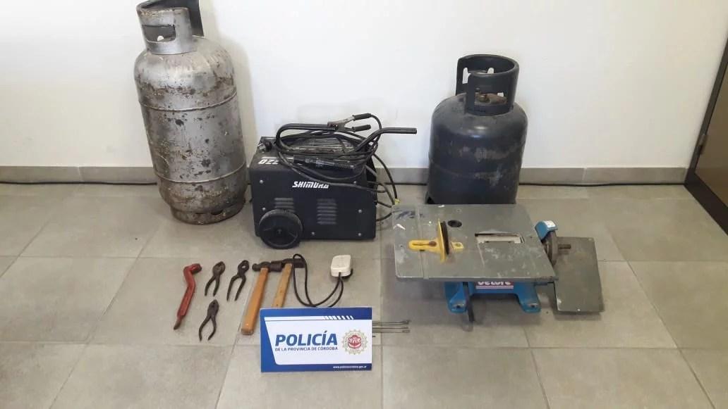 Hallaron parte de los elementos robados en el colegio Arminda Aberastury