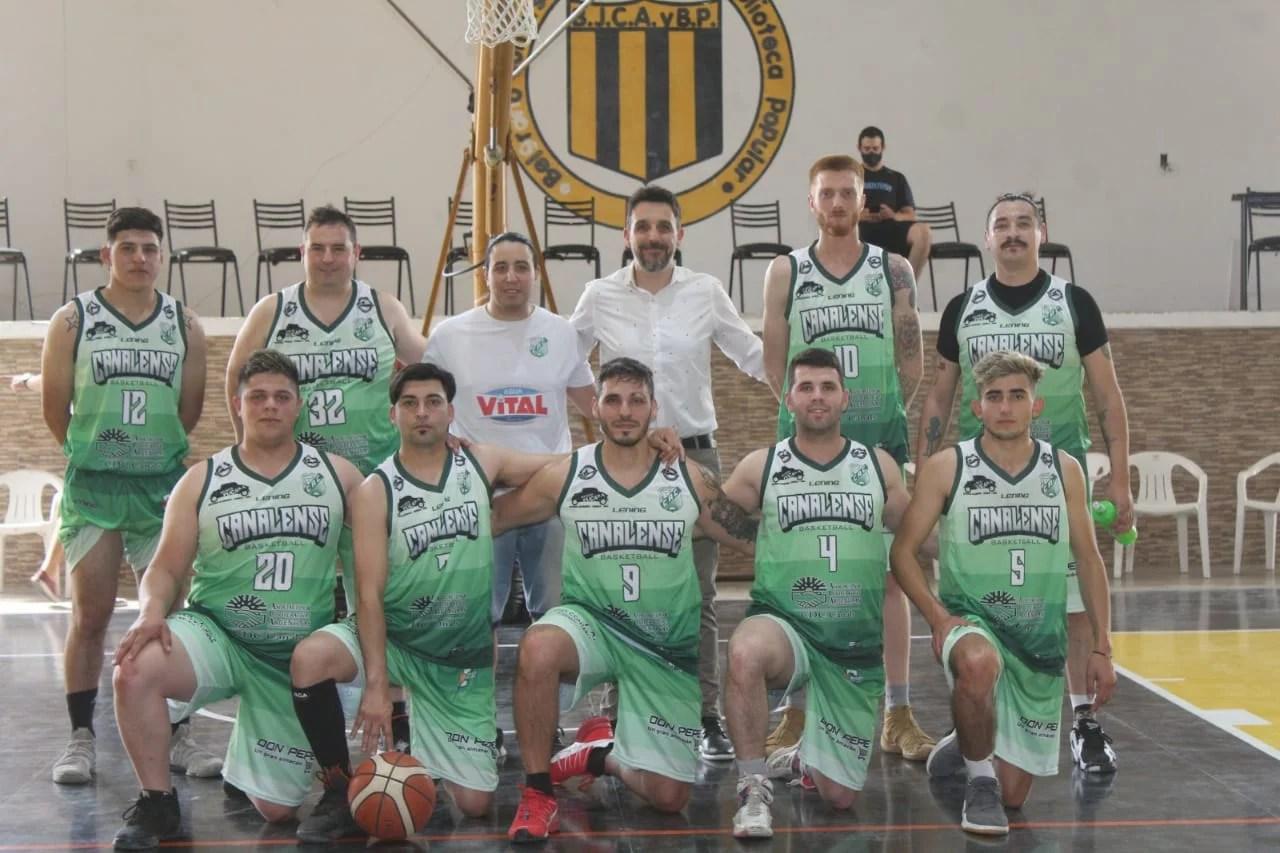 El básquet de Canalense disputó la primera fecha del campeonato.