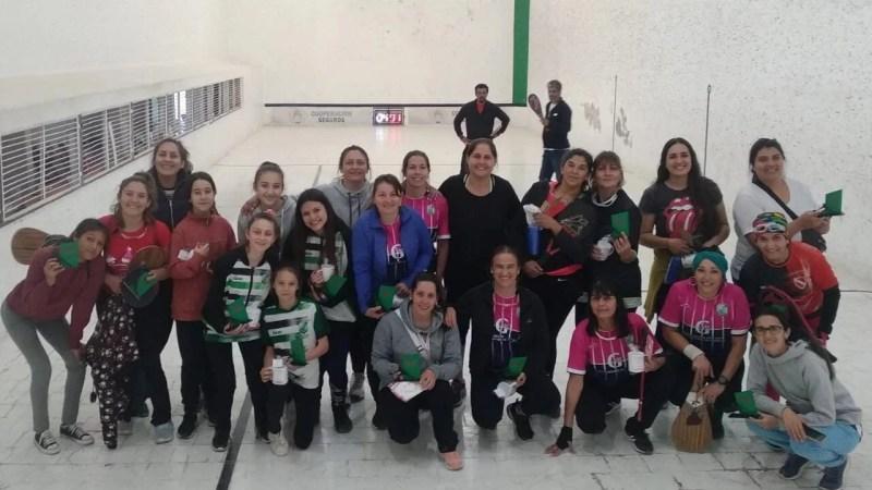 Pelota Paleta: El pasado domingo se llevó a cabo un torneo de mujeres.