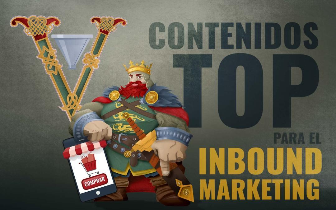 5 Contenidos Top en el Inbound Marketing