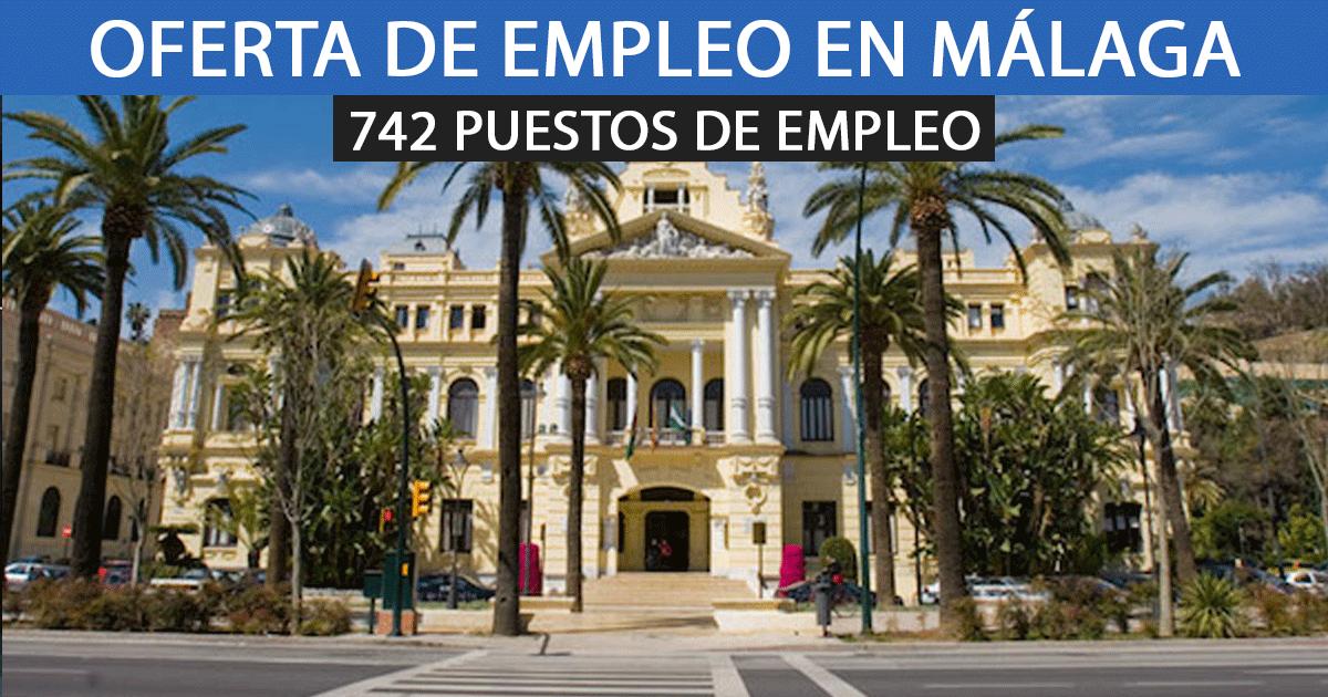 El Ayuntamiento de Málaga aprueba la contratación de 742 peones.