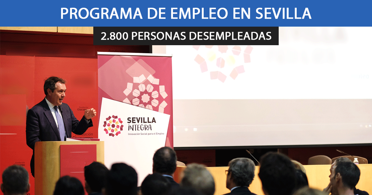 El Ayuntamiento de Sevilla aprueba 7 proyectos de empleo para llegar a 2800 personas en paro