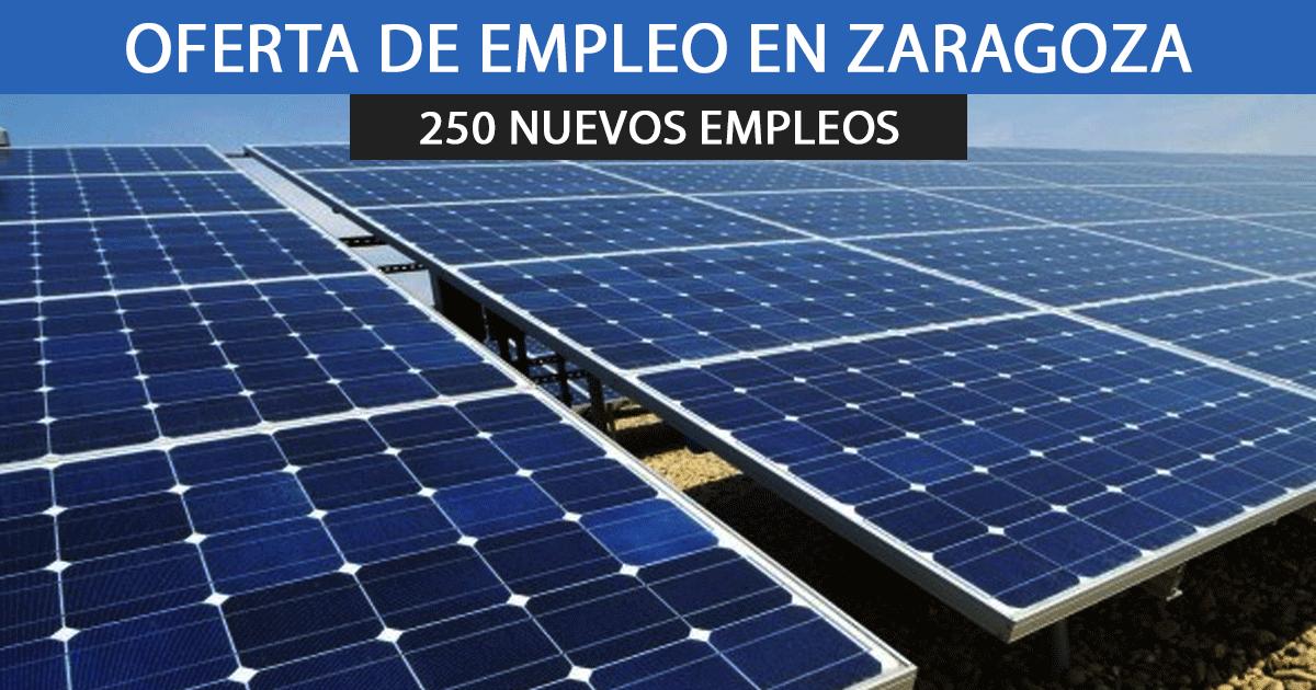 250 puestos de empleo para instalar placas solares en Chiprana.