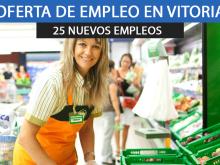 Mercadona en Vitoria urge cubrir 25 puestos de empleo en su bloque logístico