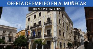 El Ayuntamiento de Almuñécar busca contratar a 102 personas