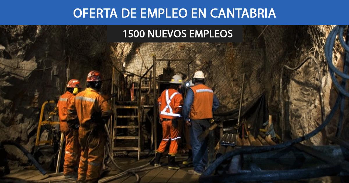 1500 empleos con la nueva apertura de las minas de Cantabria