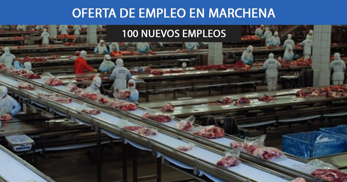 Se necesitan 100 operarios para una empresa cárnica en Marchena