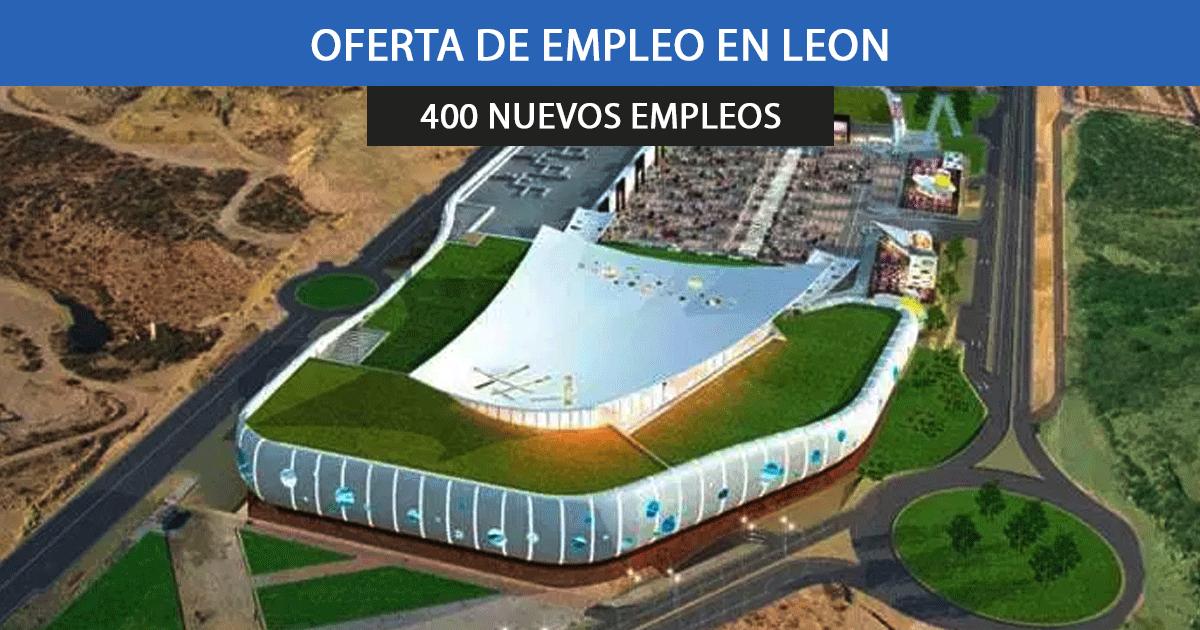 Se necesitan 400 trabajadores para la apertura del nuevo centro comercial en La Serna-La Granja de León