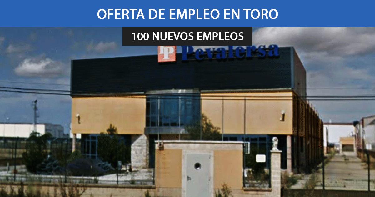 Se necesitan 100 trabajadores para las ampliaciones de la fábrica BHS en Toro.