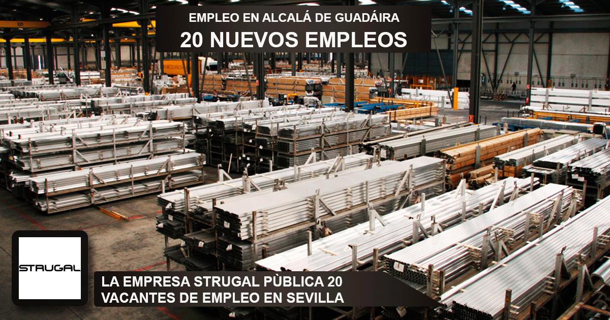 Se necesitan 20 trabajadores para trabajar en la fábrica de Strugal en Alcalá de Guadaira