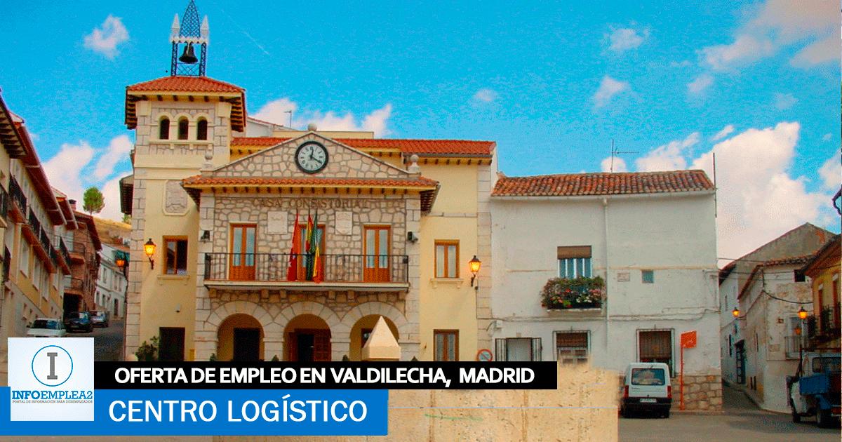 Se necesita Personal para Centro Logístico en Valdilecha, Madrid