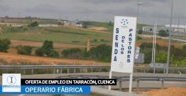 Se necesitan 50 Operarios para Fábrica en Taracón, Cuenca
