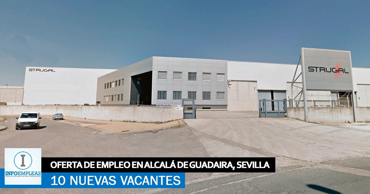 Se necesita Personal para Fábrica de Strugal en Alcalá de Guadaira, Sevilla