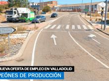 Se necesita Operarios para trabajar en Fábrica situada en Valladolid
