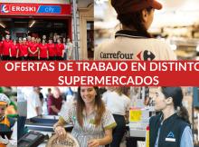 OFERTAS DE TRABAJO EN DISTINTOS SUPERMERCADOS