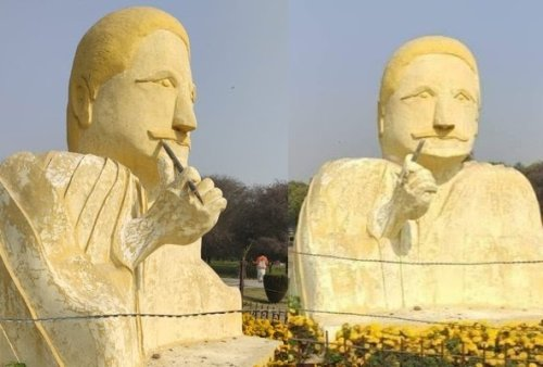Allama Iqbal's statue is getting Criticism