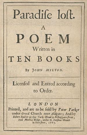 Houghton EC65.M6427P.1667aa - Paradise Lost, 1667.jpg