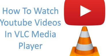 How To Watch Youtube Videos In VLC Media Player-infogalaxy.in
