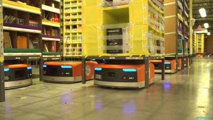 Amazon Warehouse Robots-infogalaxy.in