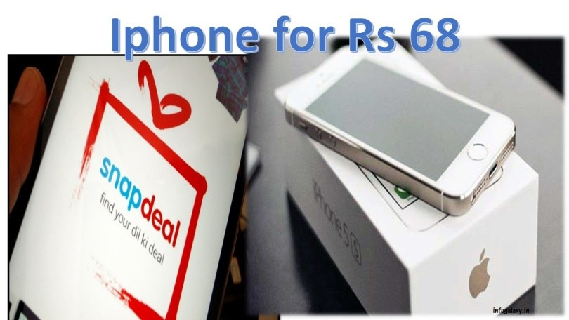 iPhone for Rs-68 story continues-infogalaxy.in