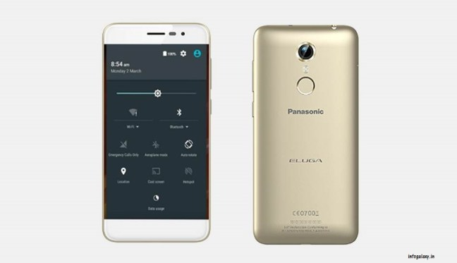 Panasonic Eluga Arc with Volte feature-infogalaxy.in