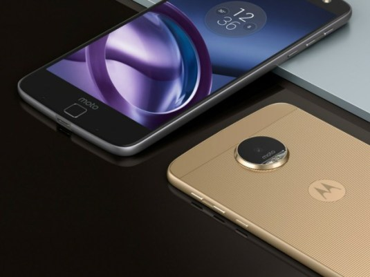 Moto Z and Moto Z Force launched with Moto Mods
