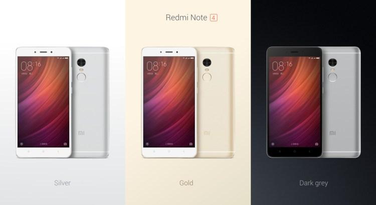 Xiaomi Launched Redmi Note 4
