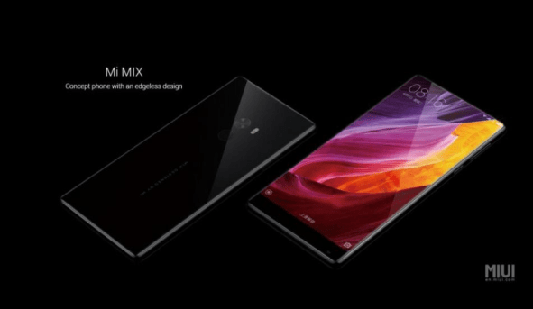 The Concept Of Xiaomi Mi MIX