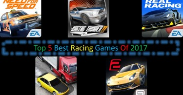Top 5 Best Racing Games Of 2017
