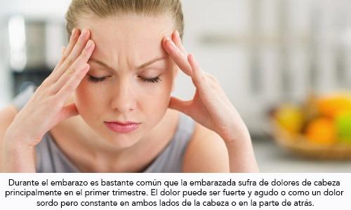 Infogen   Los dolores de cabeza durante el embarazo