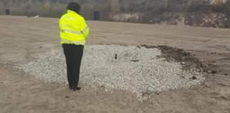 Depozitul de deșeuri din Târgu-Jiu, amendat cu 100.000 de lei