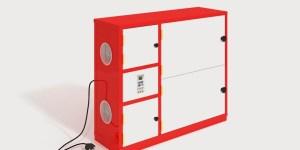 Infografía 3D mueble zapatero