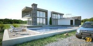 diseño 3d para la arquitectura