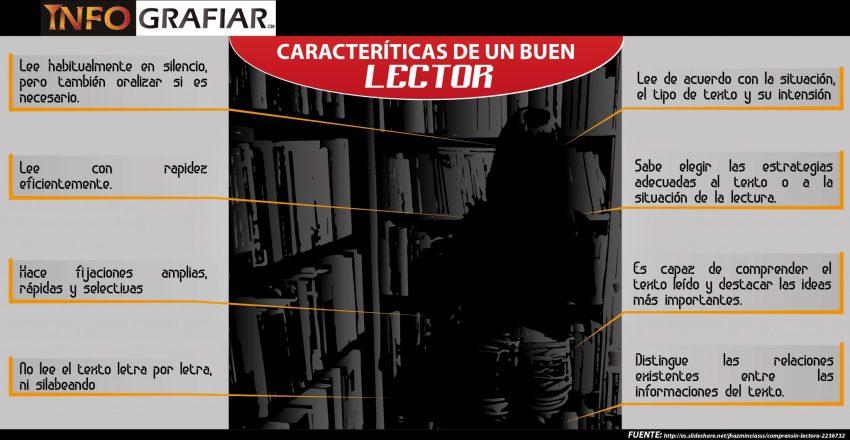 Caracteristicas de un buen lector