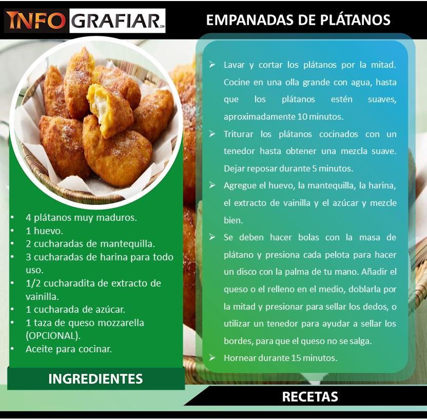 EMPANADAS DE PLÁTANOS