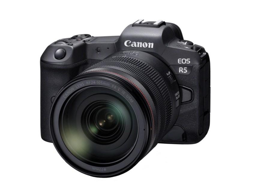 La Canon EOS R5 llegará tarde pero con grabación de vídeo 8K interna sin recorte