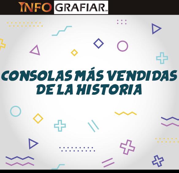 CONSOLAS MÁS VENDIDAS DE LA HISTORIA