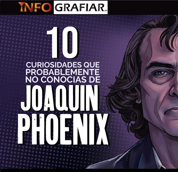 Las 10 curiosidades que probablemente no conocías sobre Joaquin Phoenix