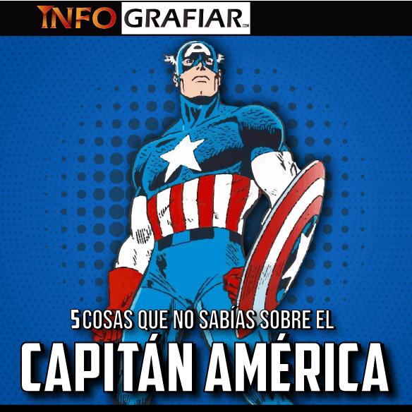 5 cosas que seguramente no sepas sobre el Capitán América