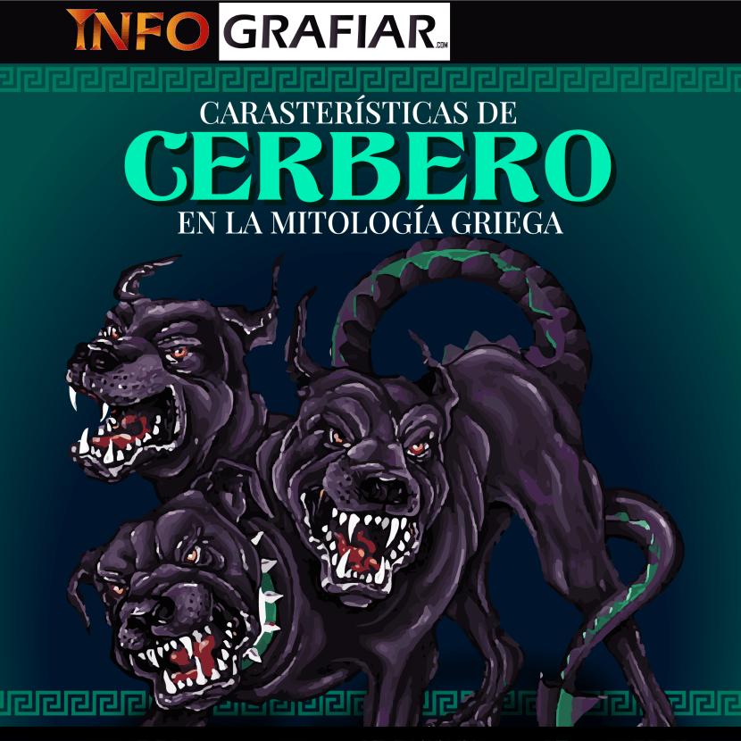 Características de Cerbero en la Mitología Griega