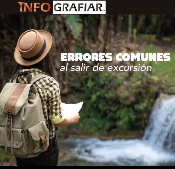 Errores comunes al salir de excursión