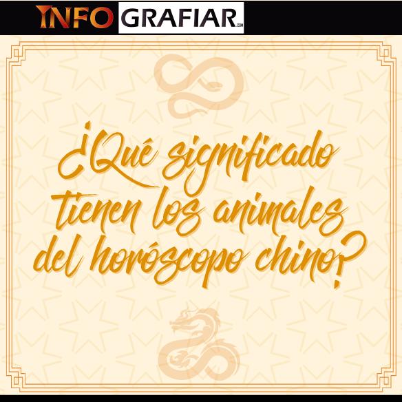 ¿Qué significado tienen los animales del horóscopo chino?