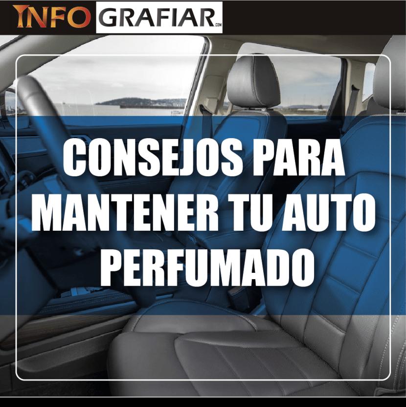 CONSEJOS PARA MANTENER TU AUTO PERFUMADO
