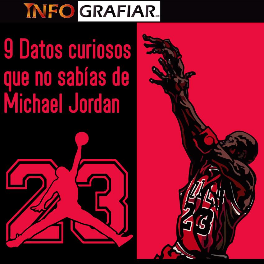 9 Datos curiosos que no sabías de Michael Jordan