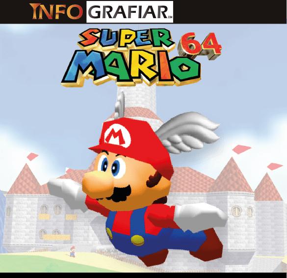 Super Mario 64 el juego que revolucionó las 3d