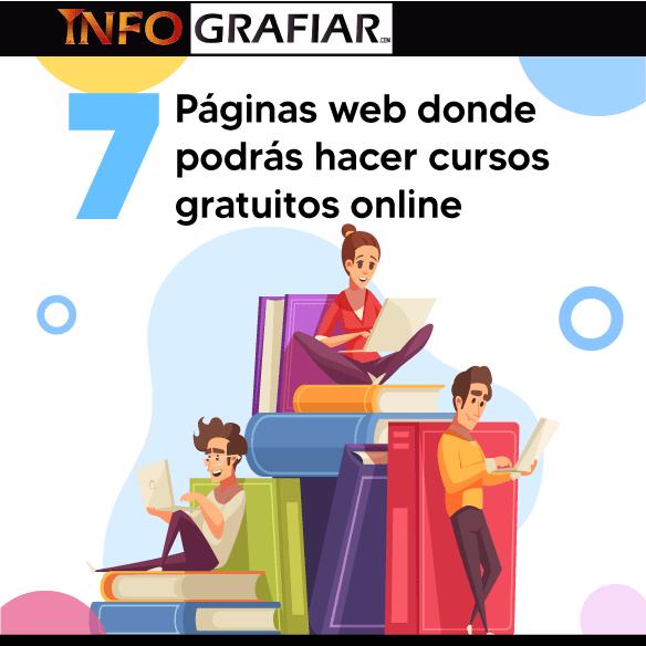 7 Páginas web donde podrás hacer cursos gratuitos online